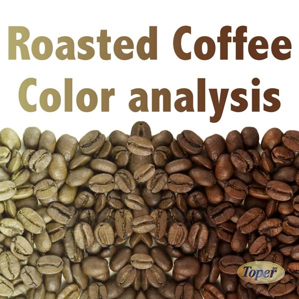 Roasted coffee color analysis