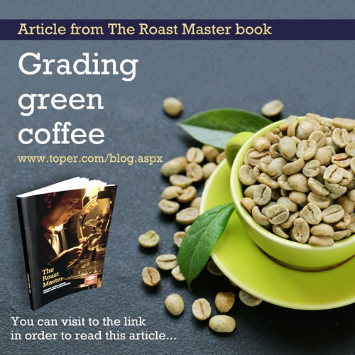 Grading green coffee